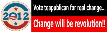 Vote teapublican